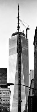 One World Trade Center (1WTC), Manhattan, New York, Vertical Panoramic View by Philippe Hugonnard