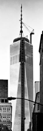One World Trade Center (1WTC), Manhattan, New York, Vertical Panoramic View by Philippe Hugonnard