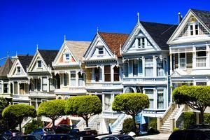 Painted Ladies - Alamo Square - San Francisco - Californie - United States by Philippe Hugonnard