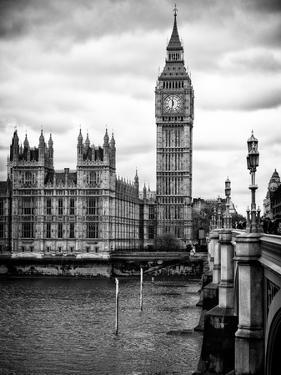 Palace of Westminster and Big Ben - Westminster Bridge - London - England - United Kingdom by Philippe Hugonnard