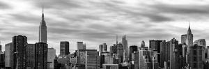 Panoramic Cityscape with the Chrysler Building and Empire State Building Views by Philippe Hugonnard