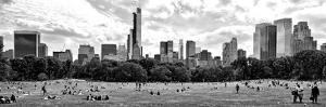 Panoramic Landscape, a Summer in Central Park, Lifestyle, Manhattan, NYC by Philippe Hugonnard