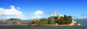 Panoramic Landscape - Alcatraz Island - Prison - San Francisco - California - United States by Philippe Hugonnard