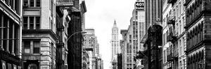 Panoramic Landscape, Architecture and Buildings, Urban Scene, 401 Broadway, Lower Manhattan, NYC by Philippe Hugonnard