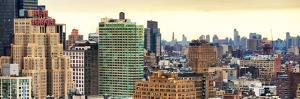 Panoramic Landscape Manhattan Buildings by Philippe Hugonnard