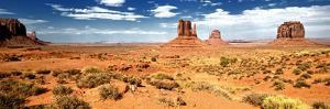 Panoramic Landscape - Monument Valley - Utah - United States by Philippe Hugonnard
