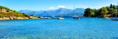 Panoramic Landscape, Saint Florent Creek, Mediterranean, Corsica, France by Philippe Hugonnard