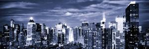 Panoramic Landscape View of Times Square, Skyscrapers View, Midtown Manhattan, NYC, NYC by Philippe Hugonnard