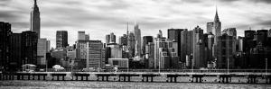 Panoramic Landscape with the Chrysler Building and Empire State Building Views by Philippe Hugonnard