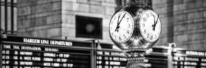 Panoramic View - Grand Central Terminal's Four-Sided Seth Thomas Clock - Manhattan - New York by Philippe Hugonnard