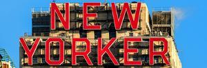 Panoramic View - the New Yorker Hotel Sign by Philippe Hugonnard