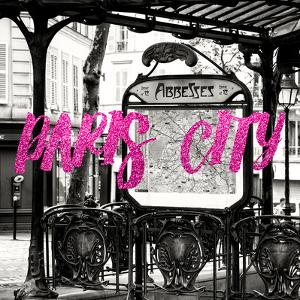 Paris Fashion Series - Paris City - Metro Abbesses II by Philippe Hugonnard