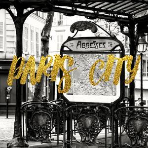 Paris Fashion Series - Paris City - Metro Abbesses by Philippe Hugonnard