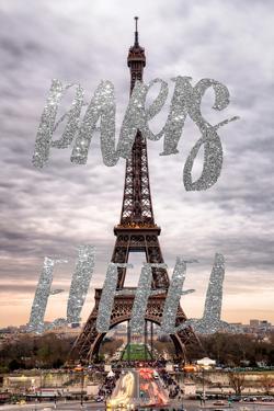 Paris Fashion Series - Paris Eiffel II by Philippe Hugonnard