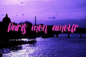Paris Fashion Series - Paris mon amour - Sunset III by Philippe Hugonnard