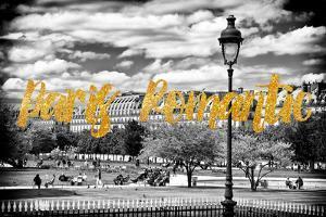 Paris Fashion Series - Paris Romantic - The Tuileries Gardens by Philippe Hugonnard