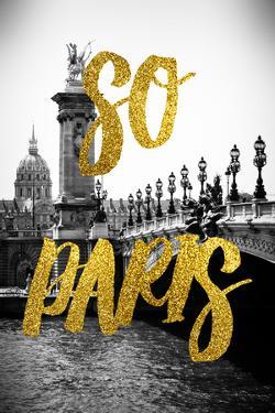 Paris Fashion Series - So Paris - Alexandre III Bridge by Philippe Hugonnard