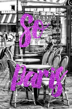 Paris Fashion Series - So Paris - Brasserie Montmartre III by Philippe Hugonnard