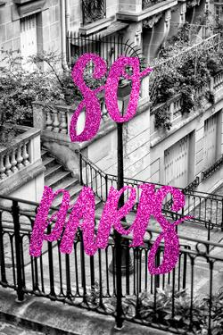 Paris Fashion Series - So Paris - Stairs of Montmartre III by Philippe Hugonnard