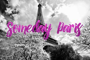 Paris Fashion Series - Someday Paris - Eiffel Tower II by Philippe Hugonnard