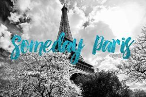 Paris Fashion Series - Someday Paris - Eiffel Tower III by Philippe Hugonnard