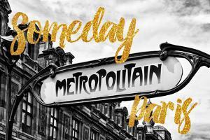 Paris Fashion Series - Someday Paris - Metropolitain by Philippe Hugonnard