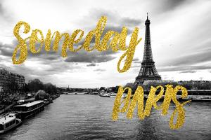 Paris Fashion Series - Someday Paris - Seine River by Philippe Hugonnard