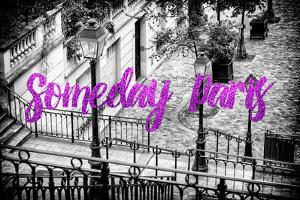 Paris Fashion Series - Someday Paris - Staircase of Montmartre II by Philippe Hugonnard