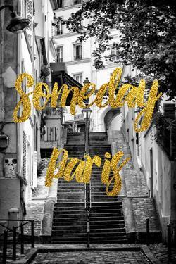 Paris Fashion Series - Someday Paris - Stais of Montmartre by Philippe Hugonnard