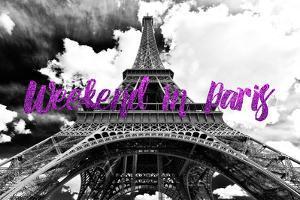 Paris Fashion Series - Weekend in Paris - Eiffel Tower II by Philippe Hugonnard