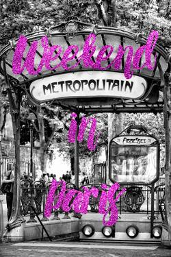 Paris Fashion Series - Weekend in Paris - Metropolitain Abbesses II by Philippe Hugonnard