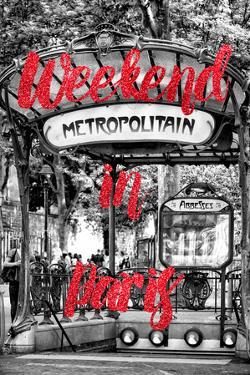 Paris Fashion Series - Weekend in Paris - Metropolitain Abbesses III by Philippe Hugonnard