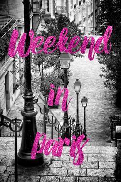 Paris Fashion Series - Weekend in Paris - Stairs of Montmartre III by Philippe Hugonnard