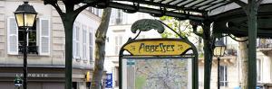 Paris Focus - Metro Abbesses by Philippe Hugonnard