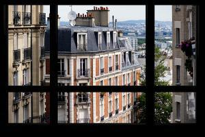 Paris Focus - Montmartre Window View by Philippe Hugonnard