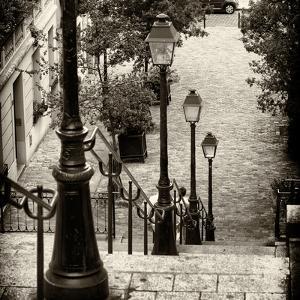 Paris Focus - Stairs of Montmartre by Philippe Hugonnard