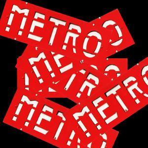 Paris Metro Signs by Philippe Hugonnard