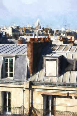 Paris Rooftops by Philippe Hugonnard