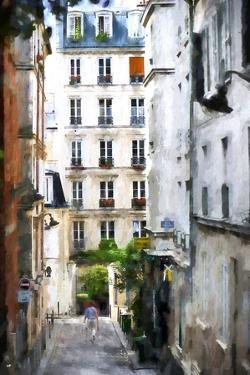 Paris Street Scene by Philippe Hugonnard