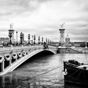 Paris sur Seine Collection - Alexandre III Bridge III by Philippe Hugonnard