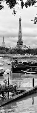 Paris sur Seine Collection - Barges on the Seine II by Philippe Hugonnard
