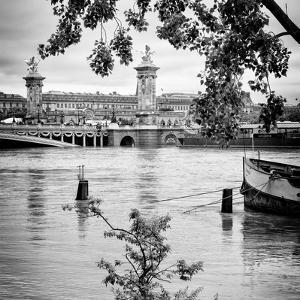 Paris sur Seine Collection - Crossing the Seine V by Philippe Hugonnard