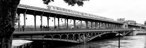 Paris sur Seine Collection - Metro Bridge III by Philippe Hugonnard