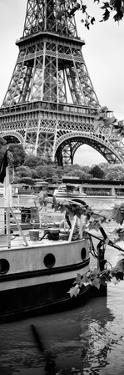 Paris sur Seine Collection - Paris Boat III by Philippe Hugonnard