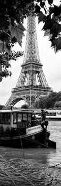 Paris sur Seine Collection - The Eiffel Tower and the Quays V by Philippe Hugonnard