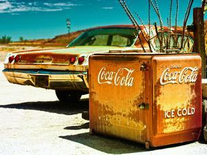 Photography Style, Route 66, Gas Station, Arizona, United States, USA by Philippe Hugonnard