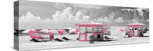 Pink Beach Houses - Miami Beach - Florida by Philippe Hugonnard