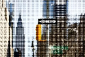 Pixels Print Series by Philippe Hugonnard