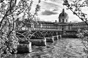 Pont des Arts - Institut de France - Paris - France by Philippe Hugonnard