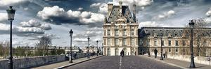Pont Royal and the Louvre Museum - Paris - France by Philippe Hugonnard